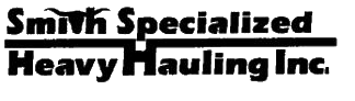 Smith Specialized Heavy Hauling Inc logo